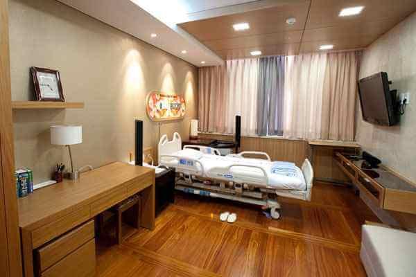 Палаты больницы Шиба