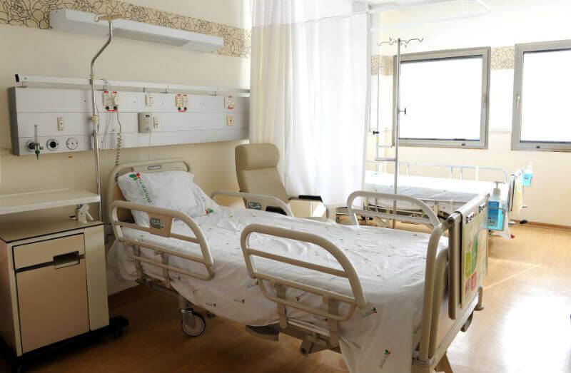 Палаты больницы Хадасса